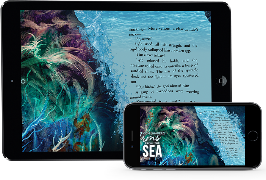 Arms from the Sea Novel and App